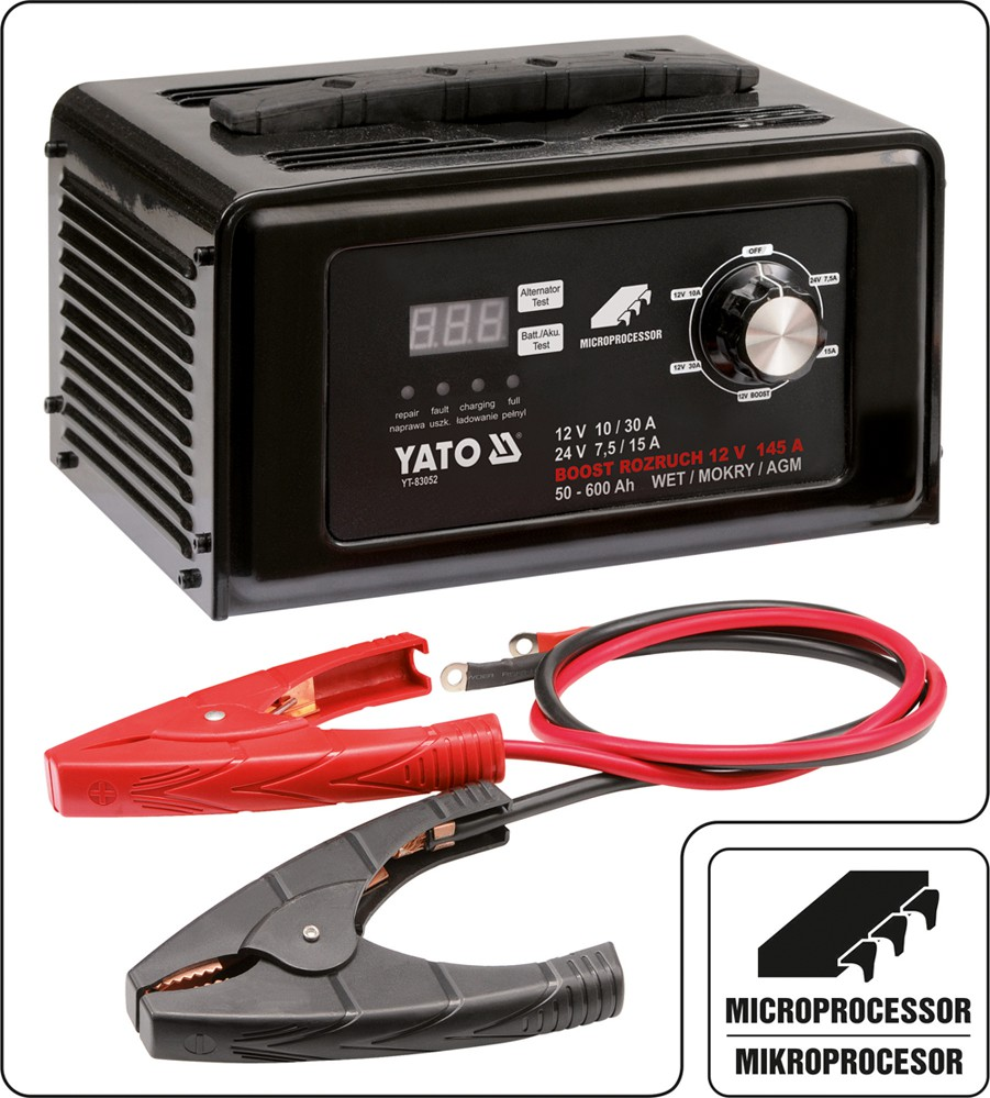 porta jump battery charger instructions